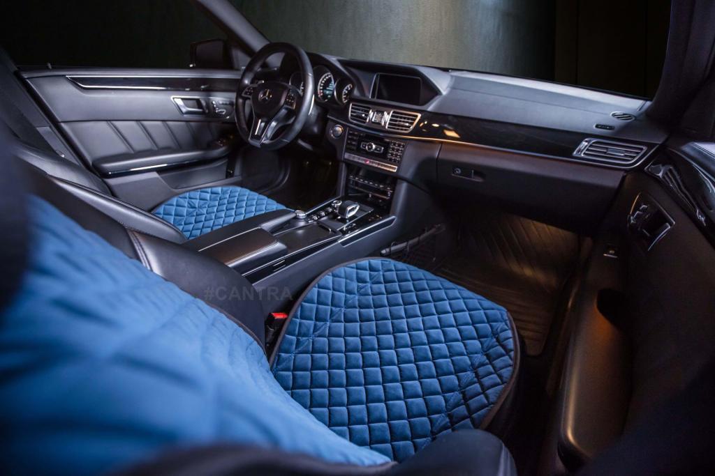 CANTRA Autositzauflage in der Farbe blau