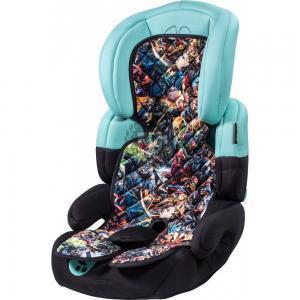 Superhelden Kindersitzauflage auf einem Kindersitz