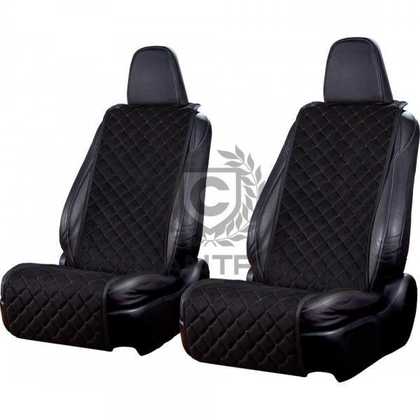 autositzauflage-standard-schwarz-goldene-naht