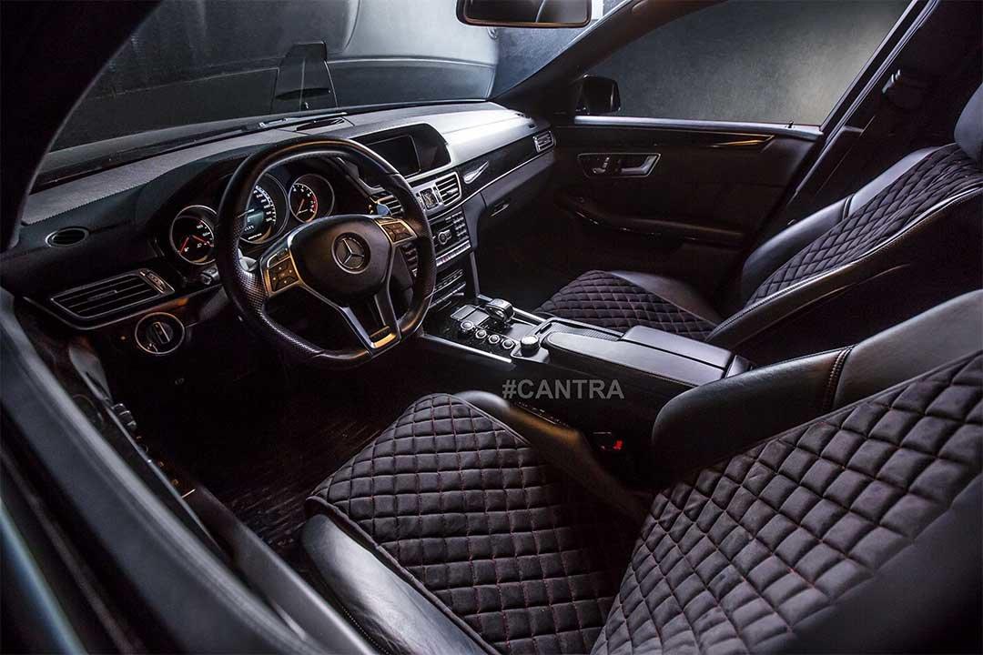 Autositzauflage für Vordersitze in schwarz