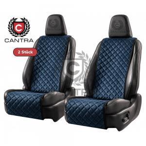 Autositzauflage blau